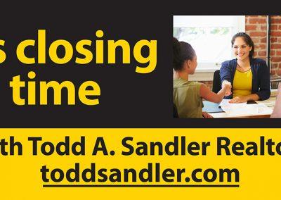 Sandler BB Closing Time