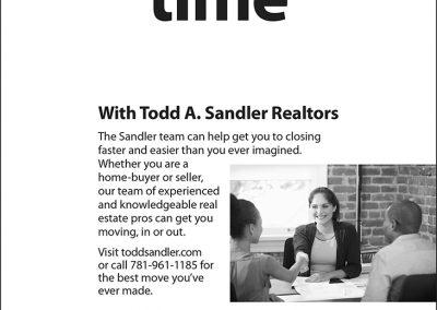 Sandler Closing Time Ad
